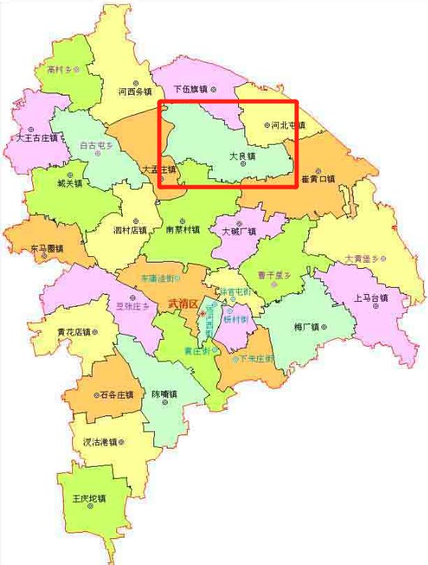 天津市武清区大良镇招商税收扶持计划